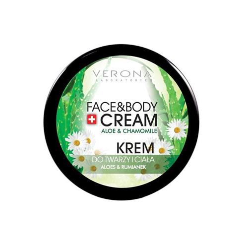 Verona Natural Essence Face and Body Cream Aloe and Chamomile Price Dubai