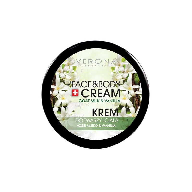 Verona Face and Body Cream Goat's Milk and Vanilla Price Dubai