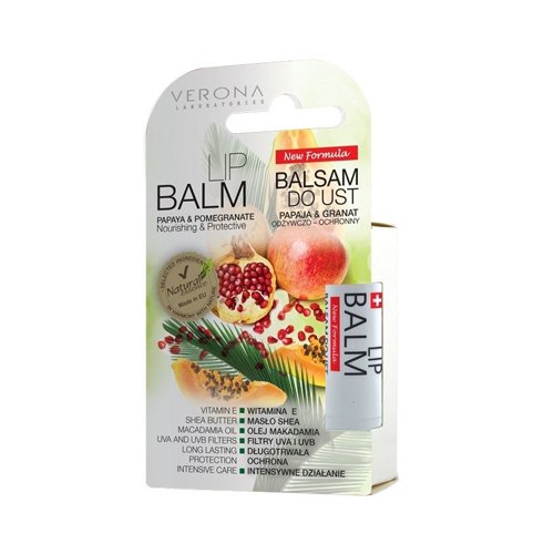 Verona Natural Essence Lip Balm Papaya and Pomegranate Price Dubai