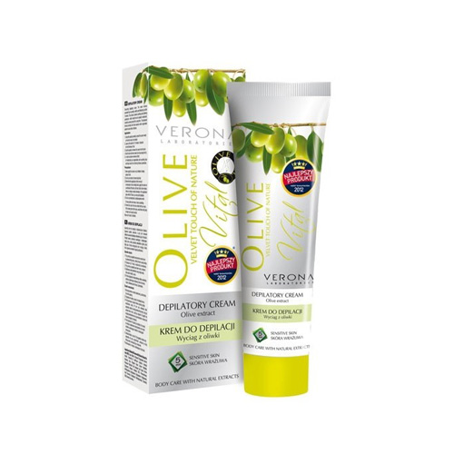 Verona Olive Depilatory Cream (Sensitive Skin) Price Dubai