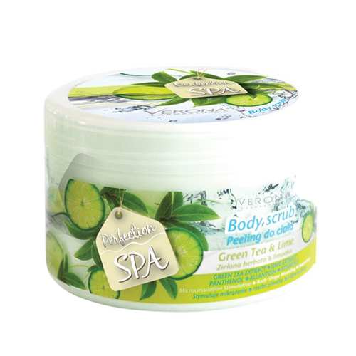 Verona SPA Green Tea and Lime Body Peeling Price Dubai