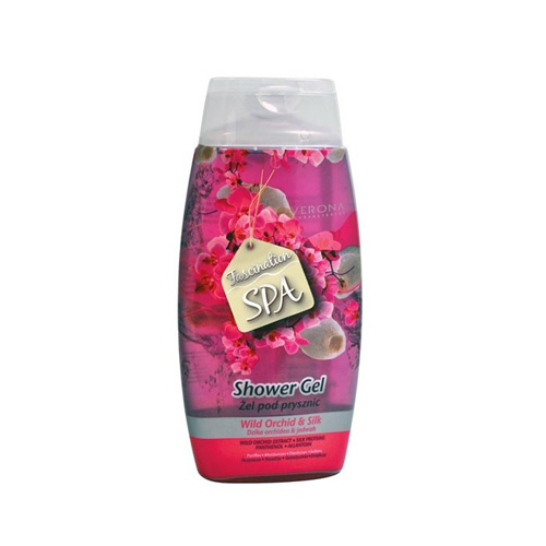 Verona With Wild Orchid and Silk Shower Gel 250ml Price Dubai