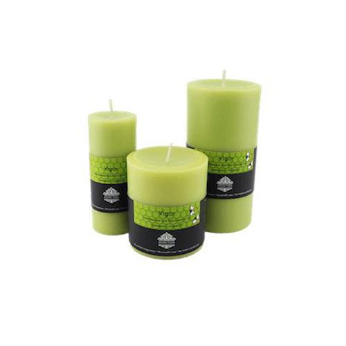 Vigor Pillar Aroma Beeswax Candles Distrubutor in Dubai