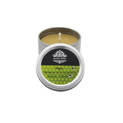 Vigor Travel Tin Aroma Beeswax Candles Distrubutor in Dubai