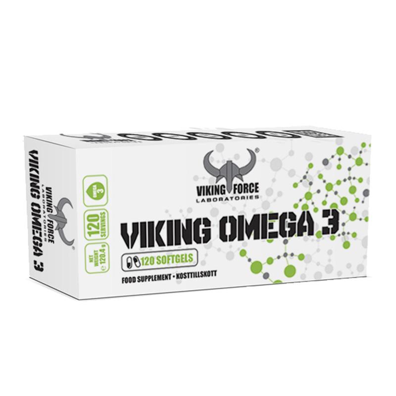 Viking Force Omega 3 120 Softgels