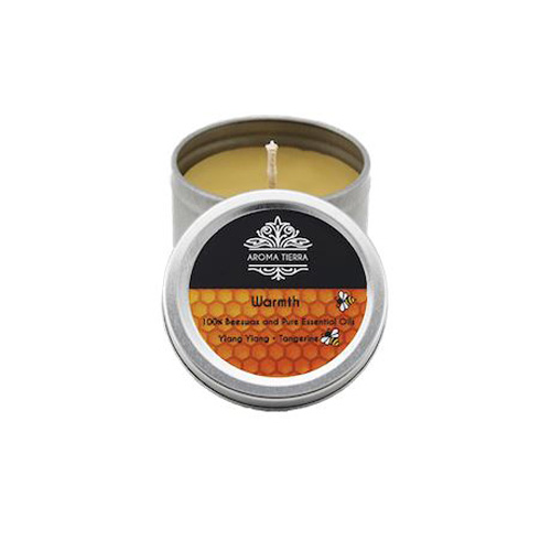 Warmth Travel Tin Aroma Beeswax Candles Distrubutor in Dubai