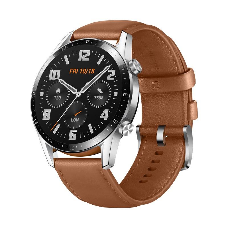 Huawei Watch GT 2 - Brown Fashion Leather