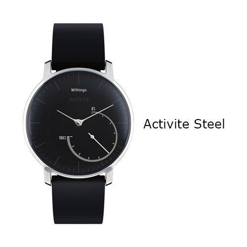 Withings Activite Steel Watch Black Price Dubai
