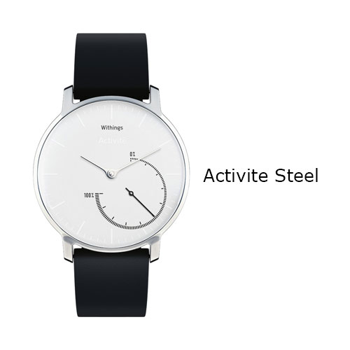 Withings Activite Steel Watch White Dial Price Dubai
