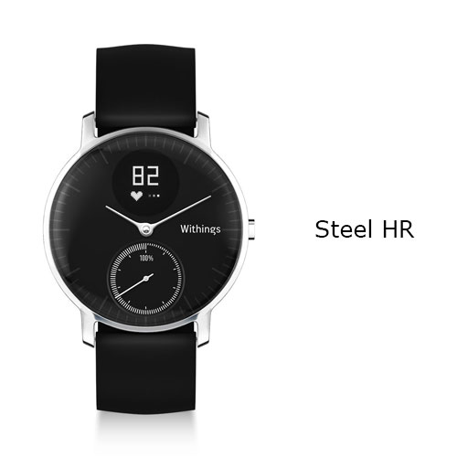 Withings Steel HR Watch 36mm Black Price UAE