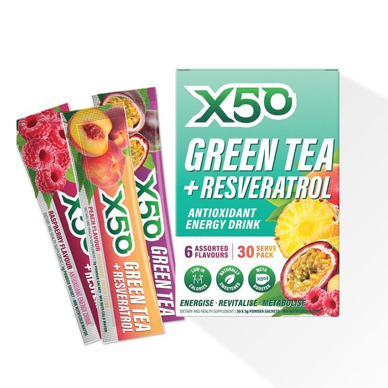 X50 Green Tea Assorted 30 Serving