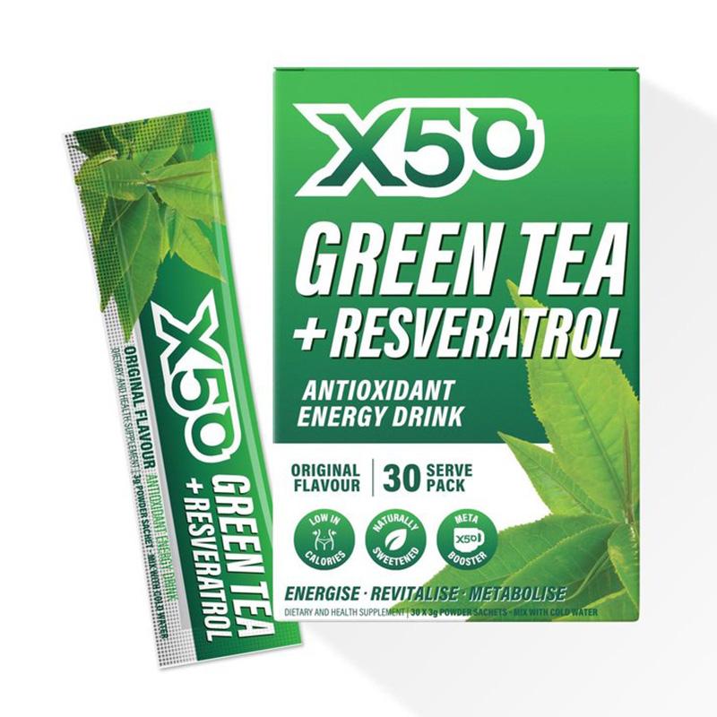 X50 Green Tea Original 30 Serving