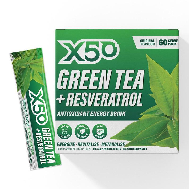 X50 Green Tea Original 60 Serving