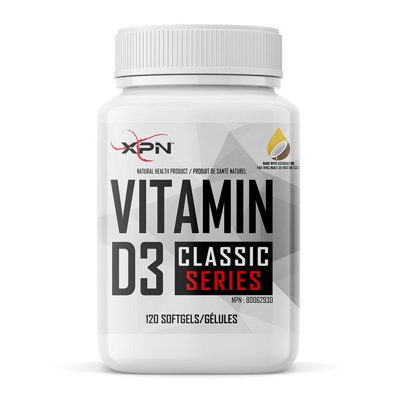 XPN Vitamin D3 1000 UI 120Gels